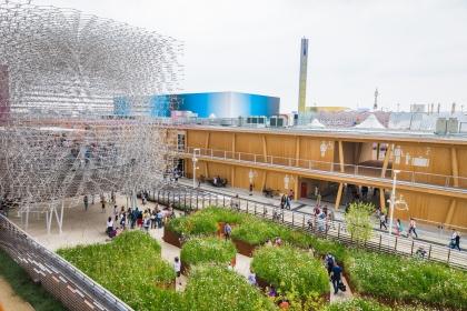 павильон Англии на Экспо 2015