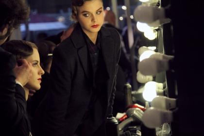 backstage показа Luisa Beccaria осень-зима 2013/14